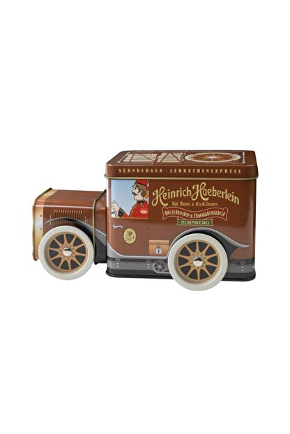 Express Heinrich Haeberlein Chocoladenfabrik Lebkuchen Müzik Kutulu Çikolatalı Kurabiye 200 g
