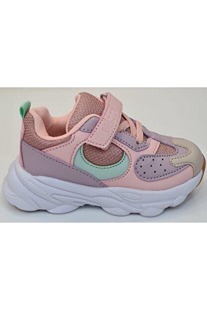 Vicco Günlük Kız Çocuk Spor Ayakkabı Pudra
