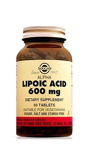 Solgar Sol-gar Alpha Lipoic Acid 600 Mg 50 Tablet