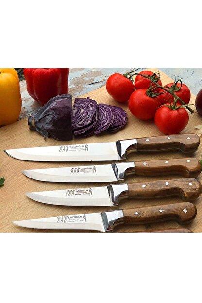 Lazoğlu Keskin Sürmene El Yapımı 4'lü Bıçak Seti