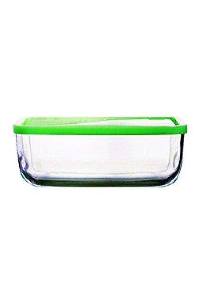 Paşabahçe Snowbox Cam Yeşil Saklama Kabı 1200 cc