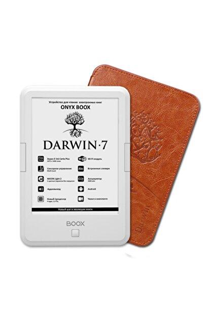 "onyx boox Darwin-7 E-kitap Okuyucu - Beyaz/6""/8gb/4 Core/e-ınk Carta Plus Sensor/android/wi-fi/audio"