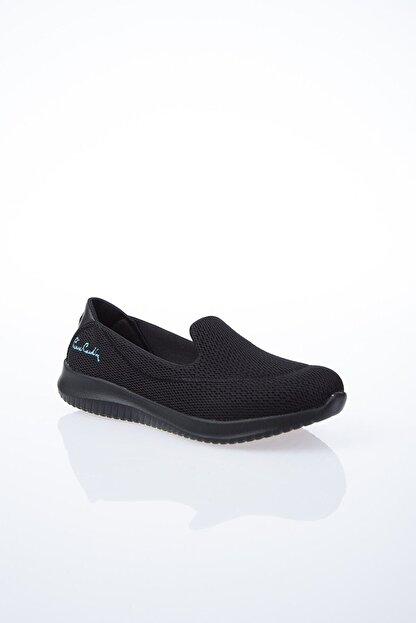 Pierre Cardin Kadın Siyah Düz Yürüyüş Ayakkabısı