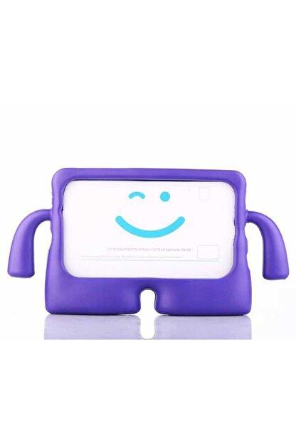 """Samsung Galaxy T580 (tab A 10.1"""") Çocuk Tablet Kılıfı Standlı Tutmalı Ultra Korumalı Mor"""