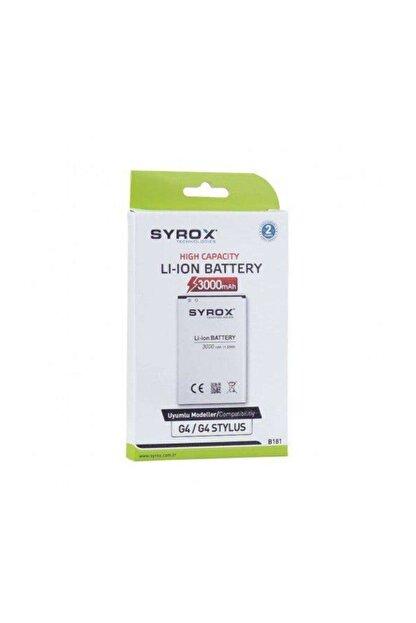 Syrox Lg G4-g4 Stylus Uyumlu Batarya