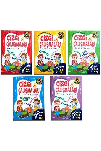 Harika Kitap 4 5 6 Yaş Çizgi Çalışması 5 Kitap