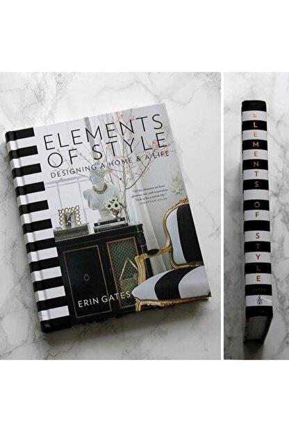 Kitap kutusudlb Elements Of Style Dekoratif Kitap Kutu Siyah Beyaz Erin Gates