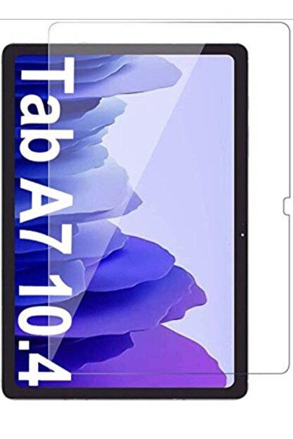 Mobilşube Galaxy Tab A7 10.4 Sm-t500 (2020) Uyumlu  Temperli Kırılmaz Cam Ekran Koruyucu