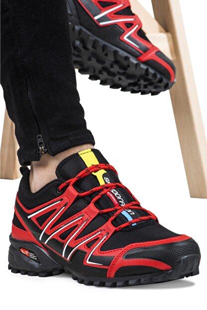 Ayakkabix Erkek Kırmızı Ferrani Günlük Spor Ayakkabı