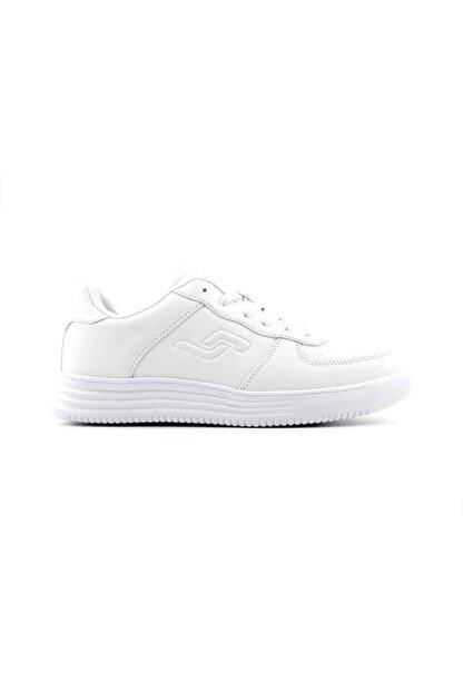 Jump 21516 Günlük Unisex Spor Ayakkabı Beyaz