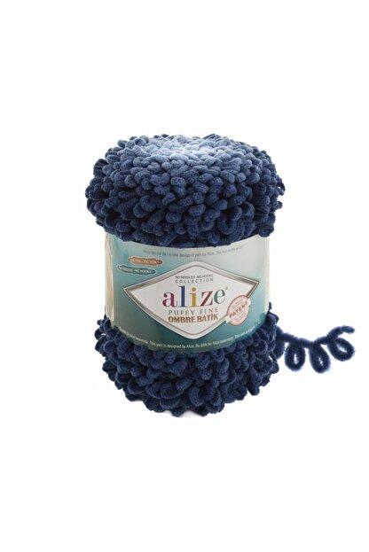Alize Puffy Fine Ombre Batik El Örgü İpi 500 gr Renk:7266