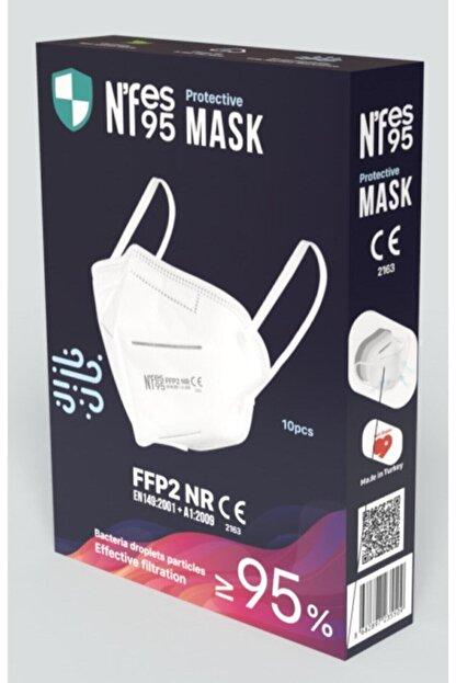 Nfes maske Nefes N95 Maske 1 Kutu 10 Adet
