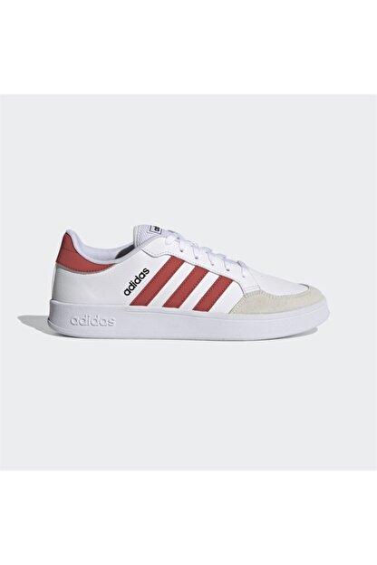 adidas Erkek Beyaz Bağcıklı Günlük Spor Ayakkabı Breaknet
