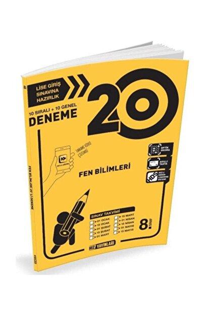 Hız Yayınları 8. Sınıf Fen Bilimleri 20 Li Deneme
