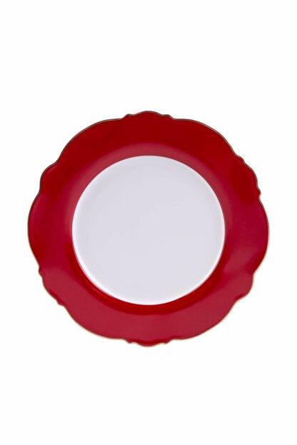 Karaca Romantic Servis Tabağı Kırmızı