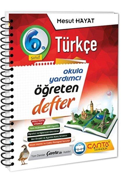Çanta Yayınları 6. Sınıf Türkçe Öğreten Defter(2021-2022)