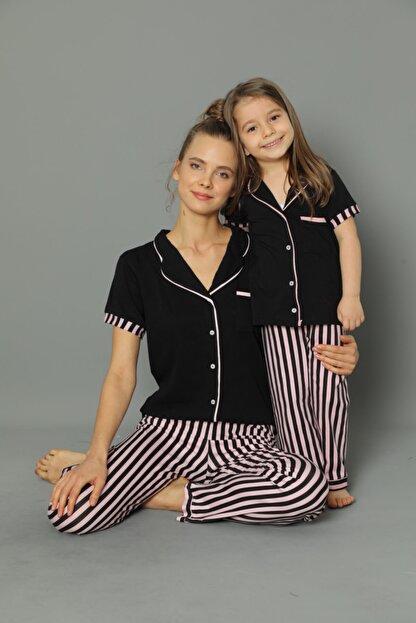 modalizy Anne Kız Kombinleri Çizgili Desen'' (TEK TEK SEPETE EKLEMENİZ GEREKMEKTEDİR) Tek Ürün Fiyatıdır.