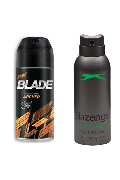 Blade Archer 150 Ml Erkek Deodorant Alana Slazenger Actıves Sport Yeşil Bay 150 Ml Deodorant Hediye