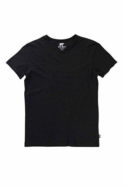 Bad Bear Erkek Siyah O-neck Tee Tişört 18.01.07.011-c01