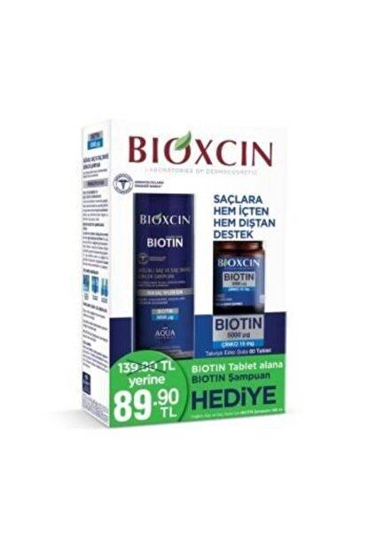 Bioxcin Biotin Tablet 5000 Mg Biotin Şampuan 300ml Hediye