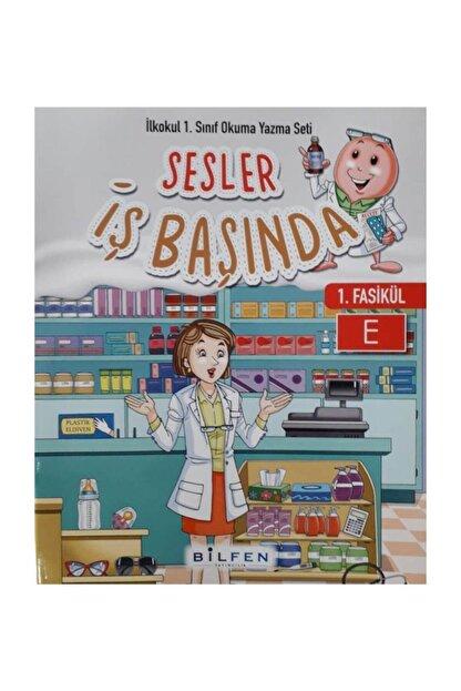 Bilfen Yayınları 1.sınıf Sesler Iş Başında Okuma Yazma Eğitim Seti