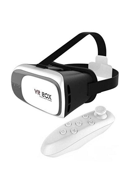 Vr Box 3d Sanal Gerçeklik Gözlüğü Kumandalı