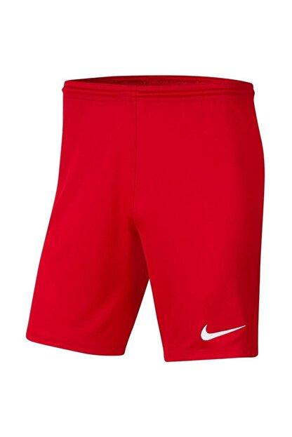 Nike Erkek Kırmızı Dry Park Iıı  Futbol Şortu Bv6855-657