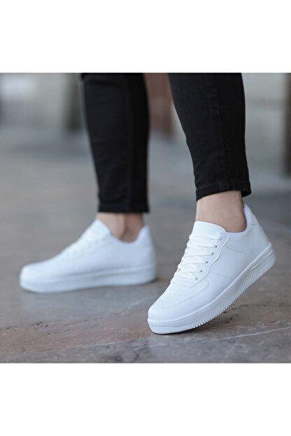 öz taha Beyaz Unisex Spor Ayakkabı