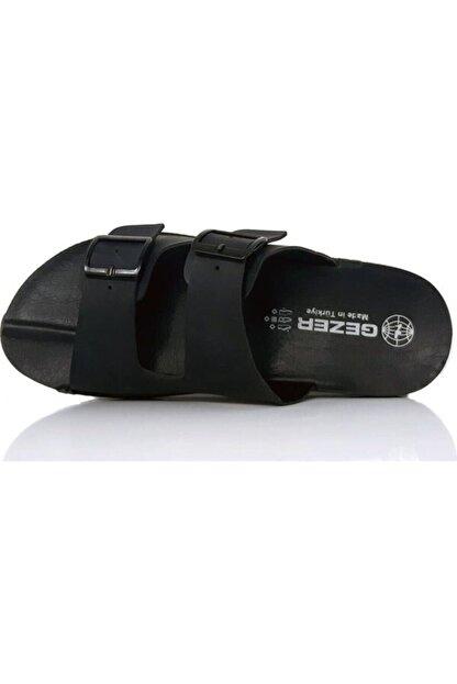 Gezer 12972 Tokalı Siyah Erkek Terlik Ev Terliği