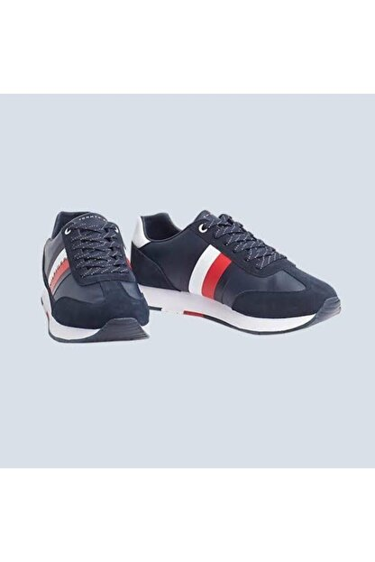 Tommy Hilfiger Corporate Leather Flag Runner