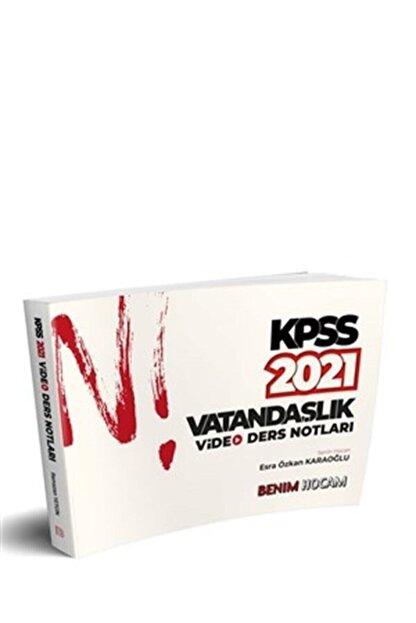 Benim Hocam Yayınları 2021 Kpss Vatandaşlık Video Ders Notları