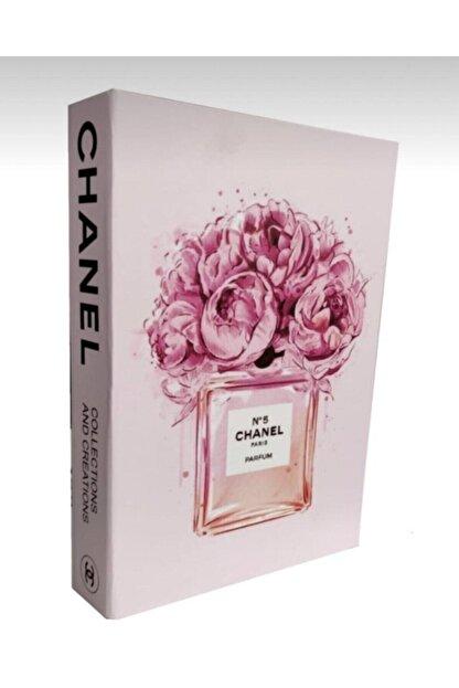 RetroLazer Parfüm Görüntülü Dekoratif Kitap Kutusu