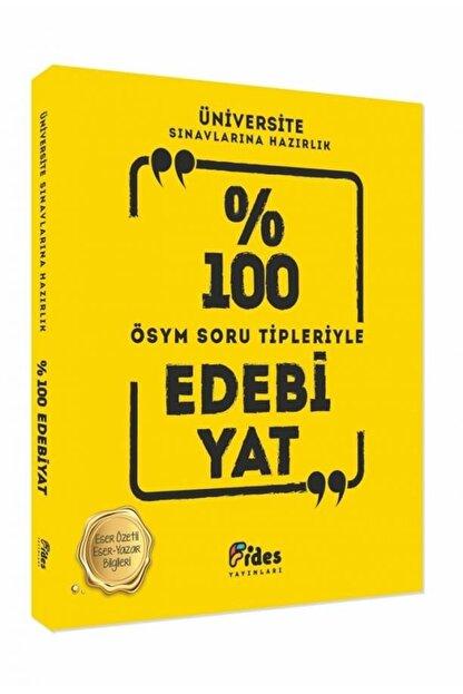 Fides Yayınları Üniversite Sınavlarına Hazırlık Yüzde 100 Edebiyat Ösym Soru Tipleriyle