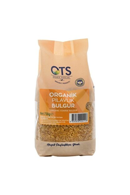 OTS Organik Ots Org. Bulgur Pilavlık 750 gr