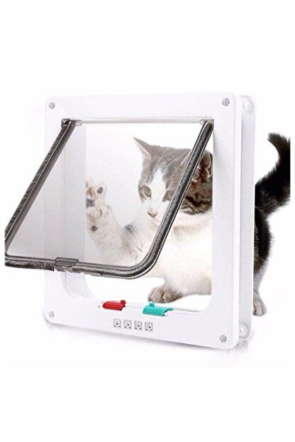 Mixpet 4 Yönlü Kilitlenebilir Yavru Köpek Ve Kedi Kapısı 23x25 Cm