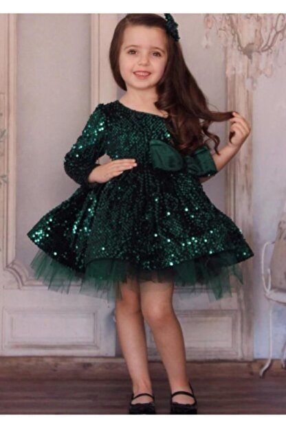Riccotarz Kız Çocuk New Zümrüt Princess Abiye