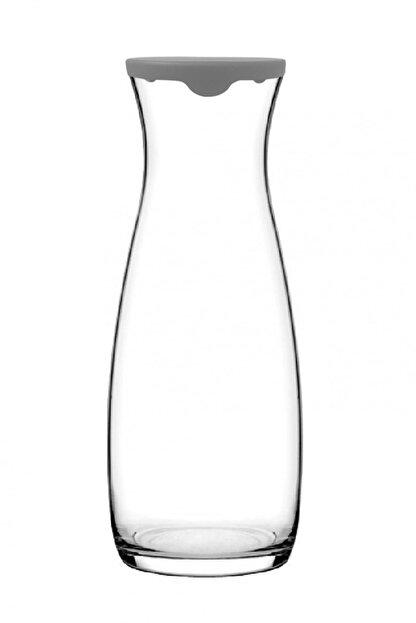 Paşabahçe Gri Kapaklı Amphora Karaf Sürahi Meşrubat İkramlık Karaf 1 lt 43813g