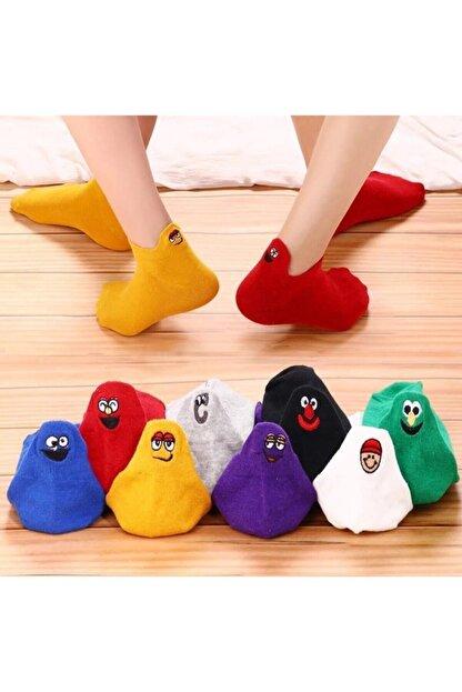 ST ÇORAP 8'li Emoji Çorap Seti