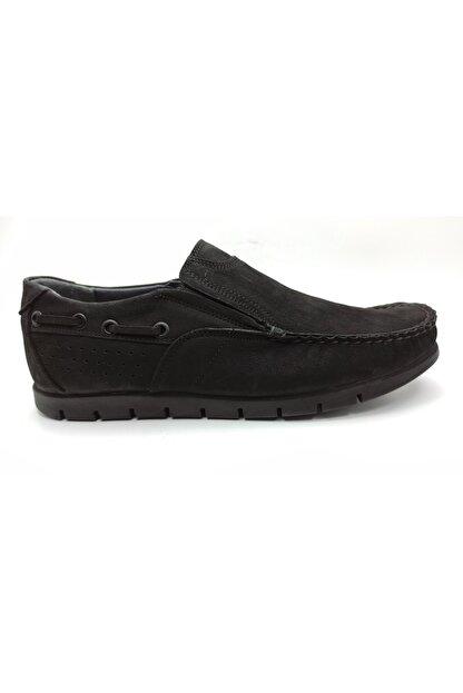 ARTMEN Plus Serisi Hakiki Nubuk Deri Makosen Erkek Siyah Günlük Ayakkabı