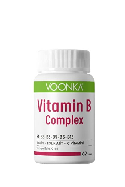Voonka B Complex 62 Tablet