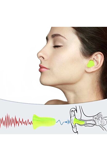 MOLDEX 7700 Uyku Kulak Tıkacı Gürültü Ses Önleyici - 10 Çift