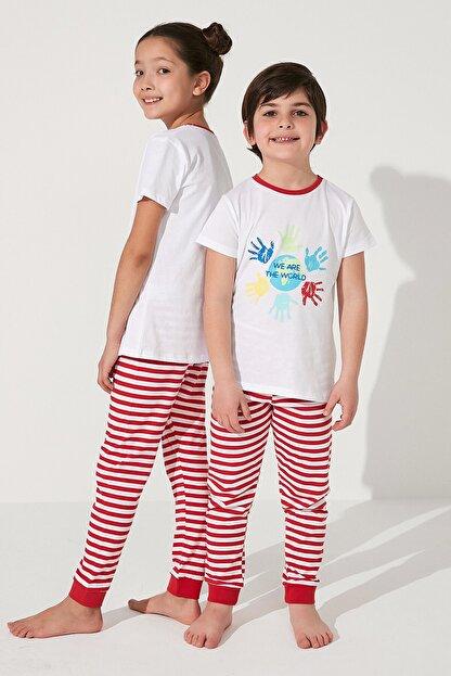 Penti Çok Renkli Unisex Together Ss 2li Pijama Takımı