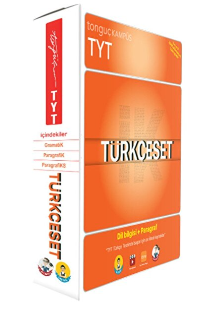 Tonguç Akademi Tyt Türkçe-ik Seti