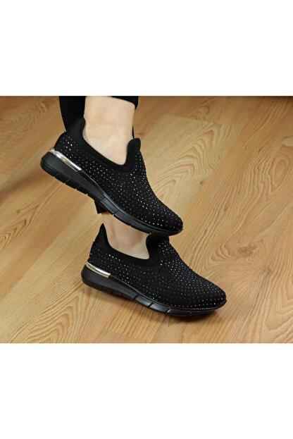 Ayakkabı Vakti W304 Taşlı Yazlık Günlük Kadın Spor Ayakkabı