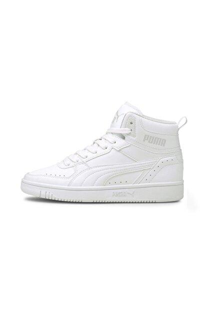 Puma Unisex Beyaz Rebound Joy Jr Basket Ayakkabısı