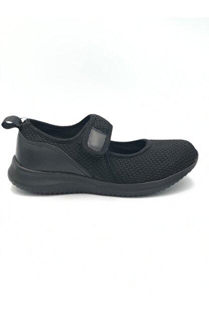 Pierre Cardin Kadın Siyah Yazlık Bez Yürüyüş Ayakkabısı Pc 30166