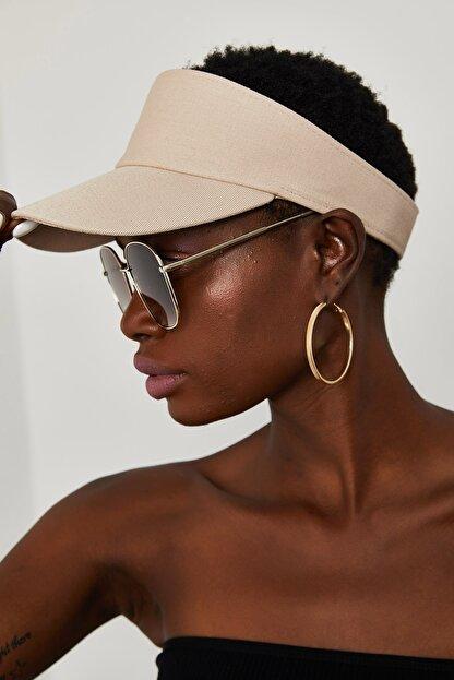 Xena Kadın Krem Tenis Şapkası 1YZK9-11830-22