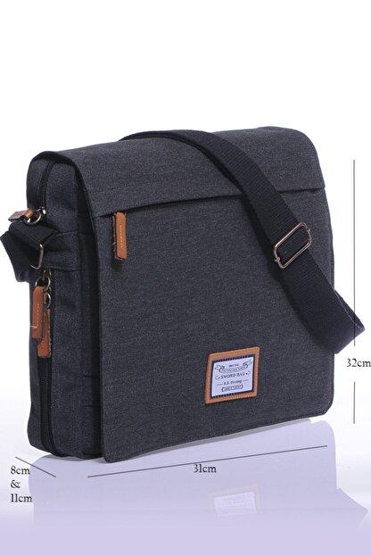 Sword Bag Siyah Kanvas Unısex Laptop &evrak Çantası Sw700