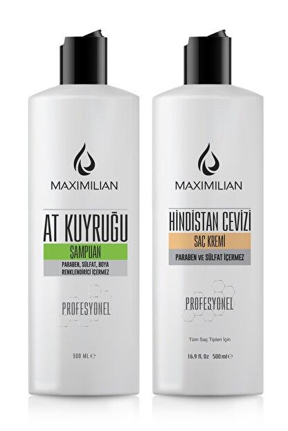 Maximilian Glutensiz At Kuyruğu Şampuanı Hızlı Saç Uzatma Saç Uzatan Dökülme Karşıtı Saç Uzamasına Yardımcı