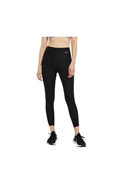 Nike Kadın Siyah Tayt W Nk Faster Tght 7_8